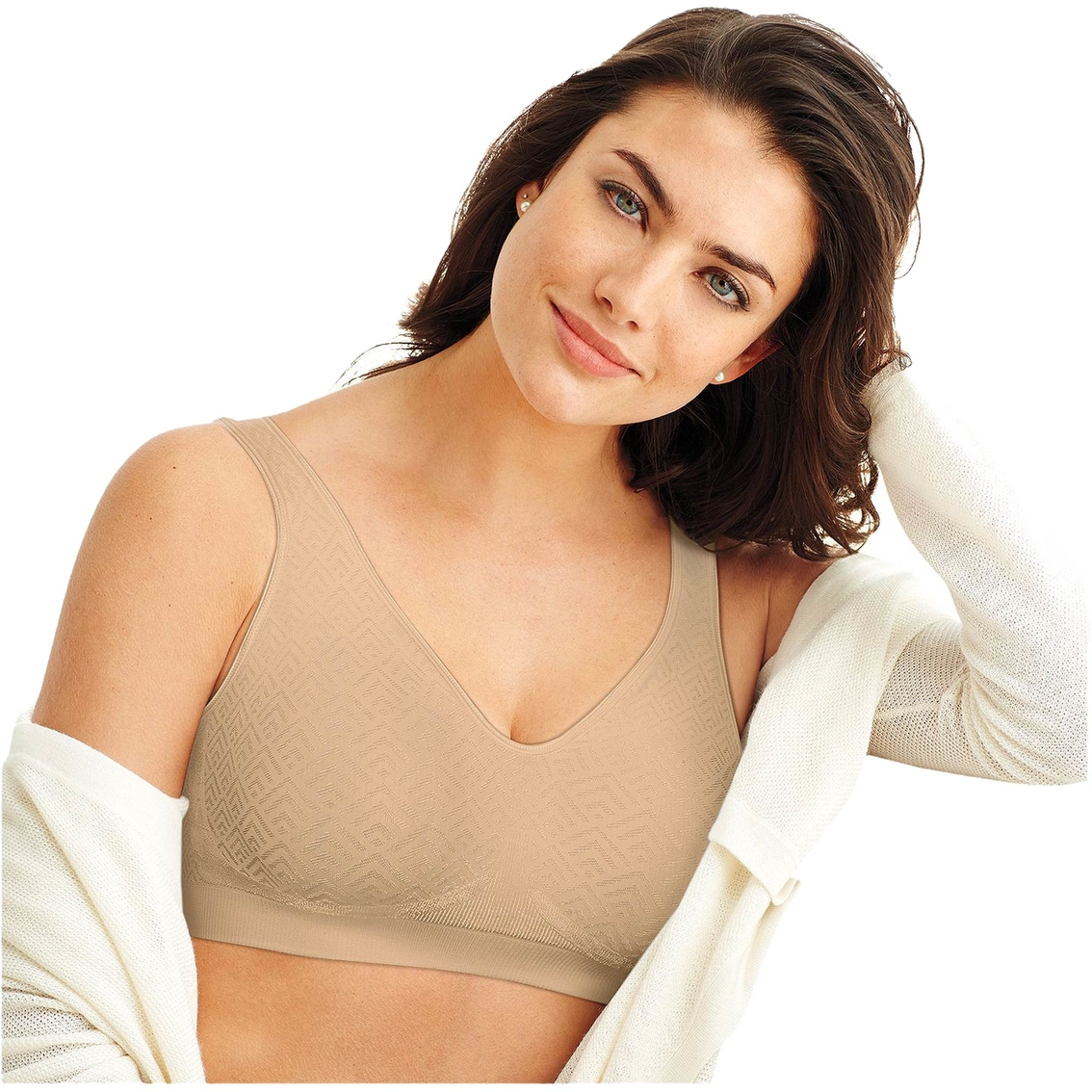 55f8cd51800 Bali Comfort Revolution Wirefree Bra With Smart Sizes