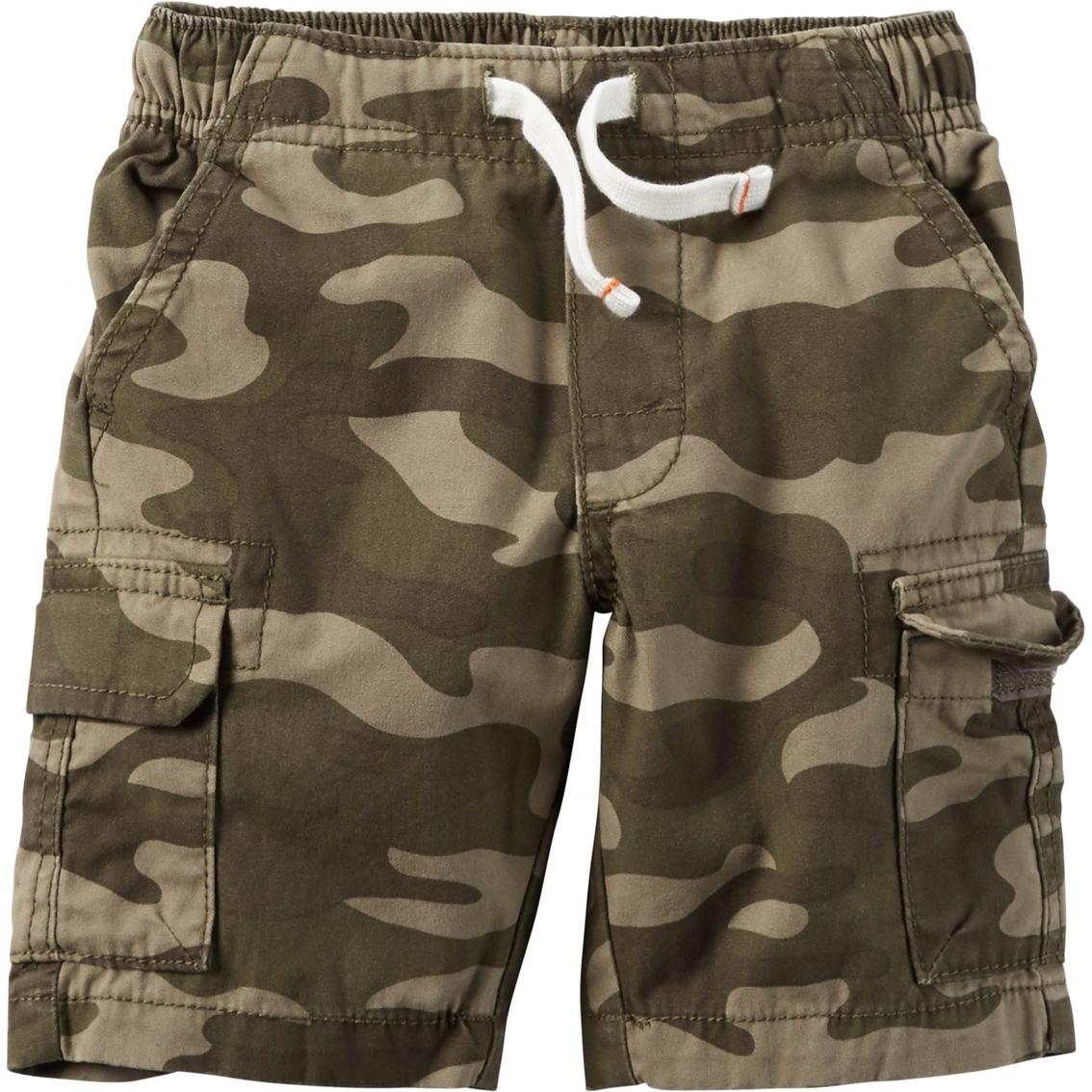 10b9a21b18d Carter s Little Boys boys Pull On Cargo Shorts
