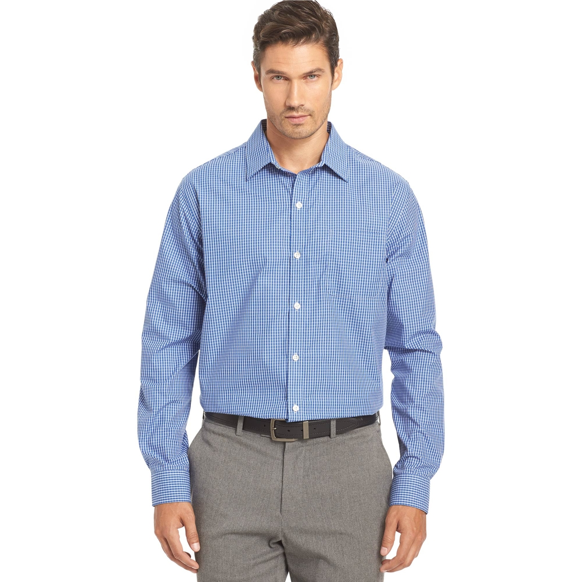 Van heusen sportswear traveler non iron shirt casual for Van heusen non iron shirts
