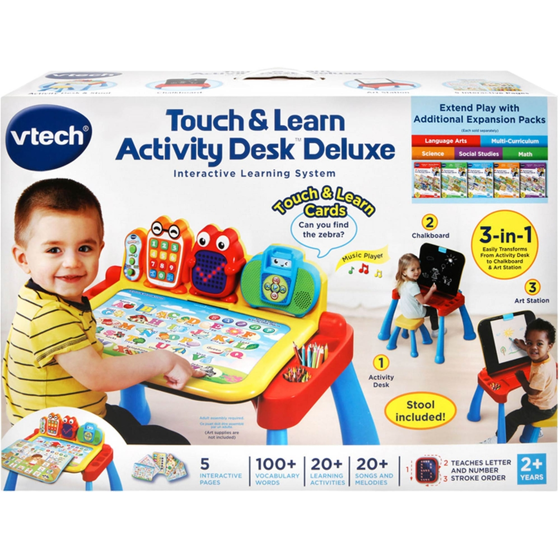 Vtech Touch And Learn Activity Desk Deluxe Fine Motor