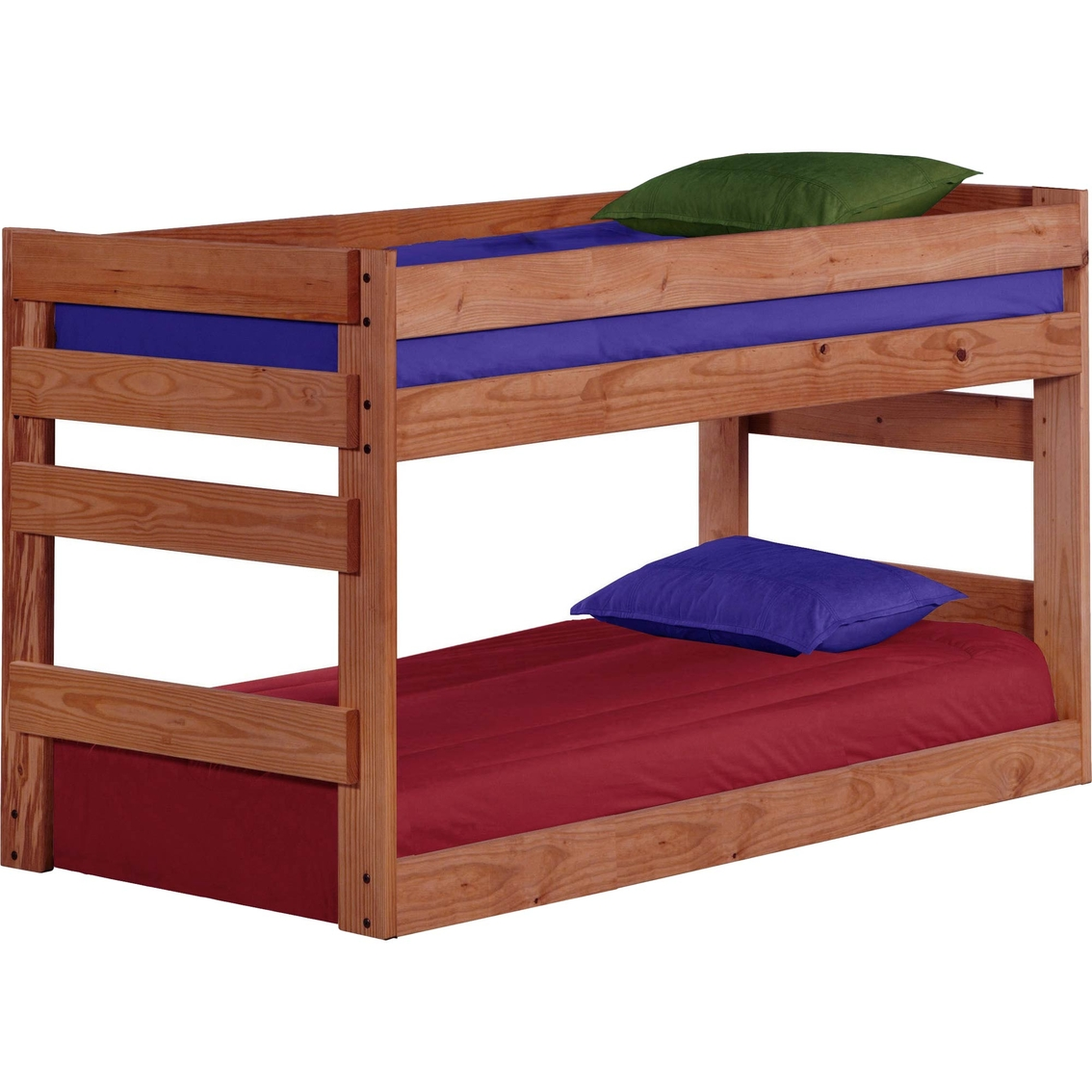Chelsea Home Furniture Twin Over Twin Junior Bunk Bed Juvenile Beds Shop The Exchange