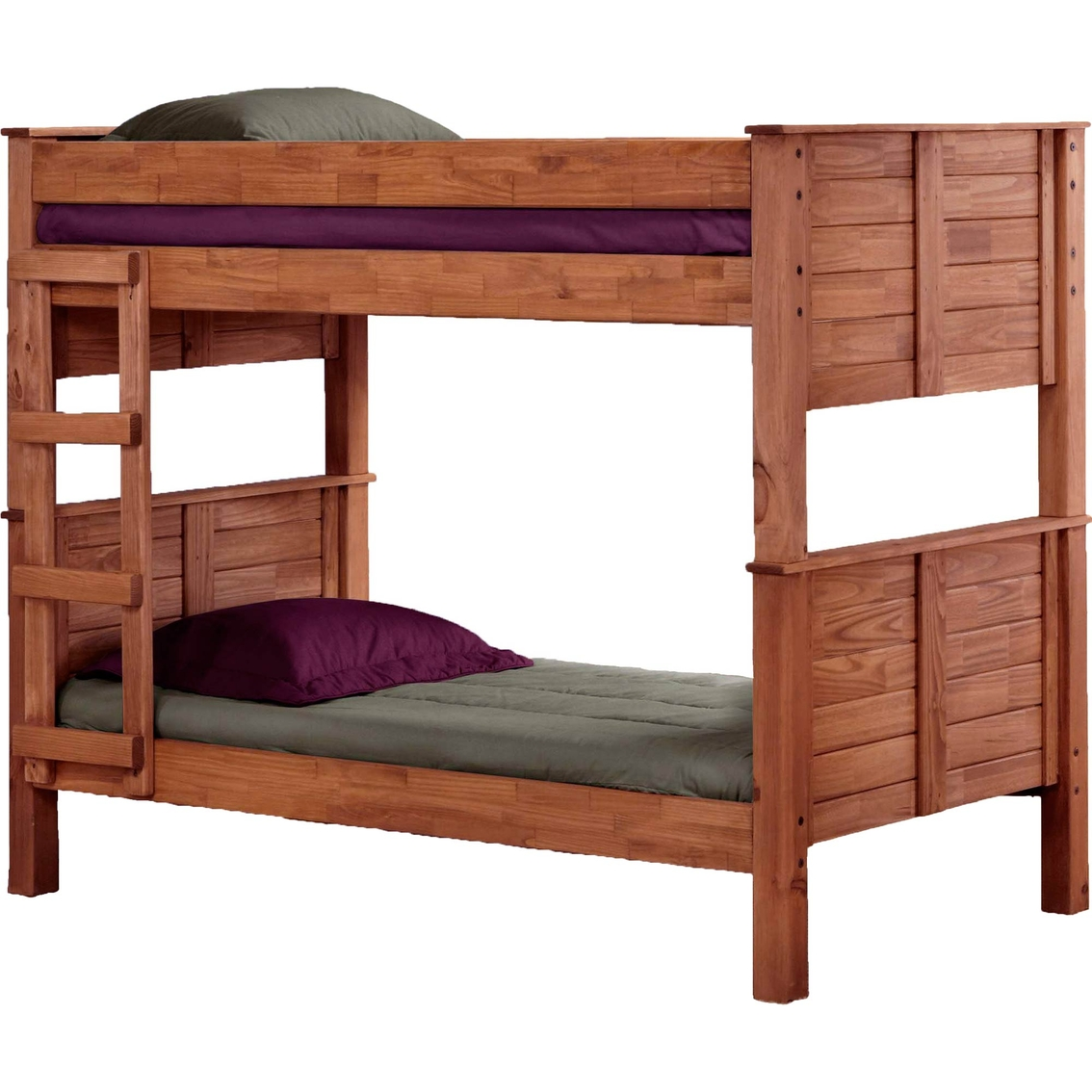 Chelsea Home Furniture Twin Over Twin Post Bunk Bed Juvenile Beds Shop The Exchange