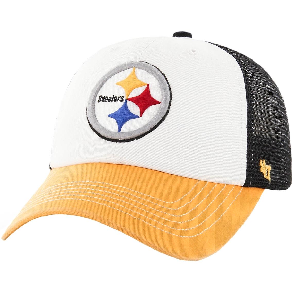 7bc81e5b81820e 47 Brand Nfl Pittsburgh Steelers Closer Cap
