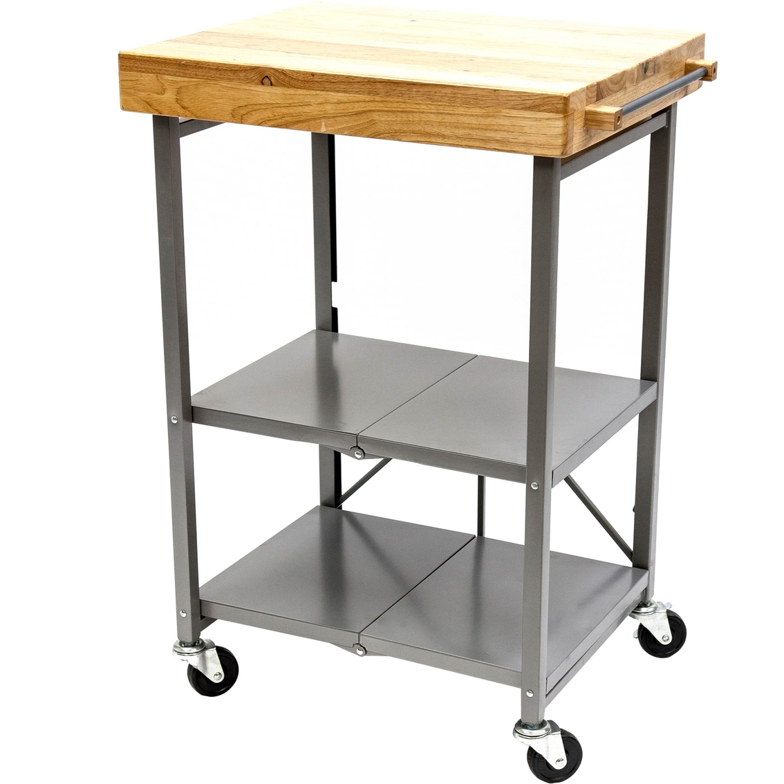 kitchen butcher block cart origami origami cart origami 36 high folding kitchen island qvc cart butcher block from