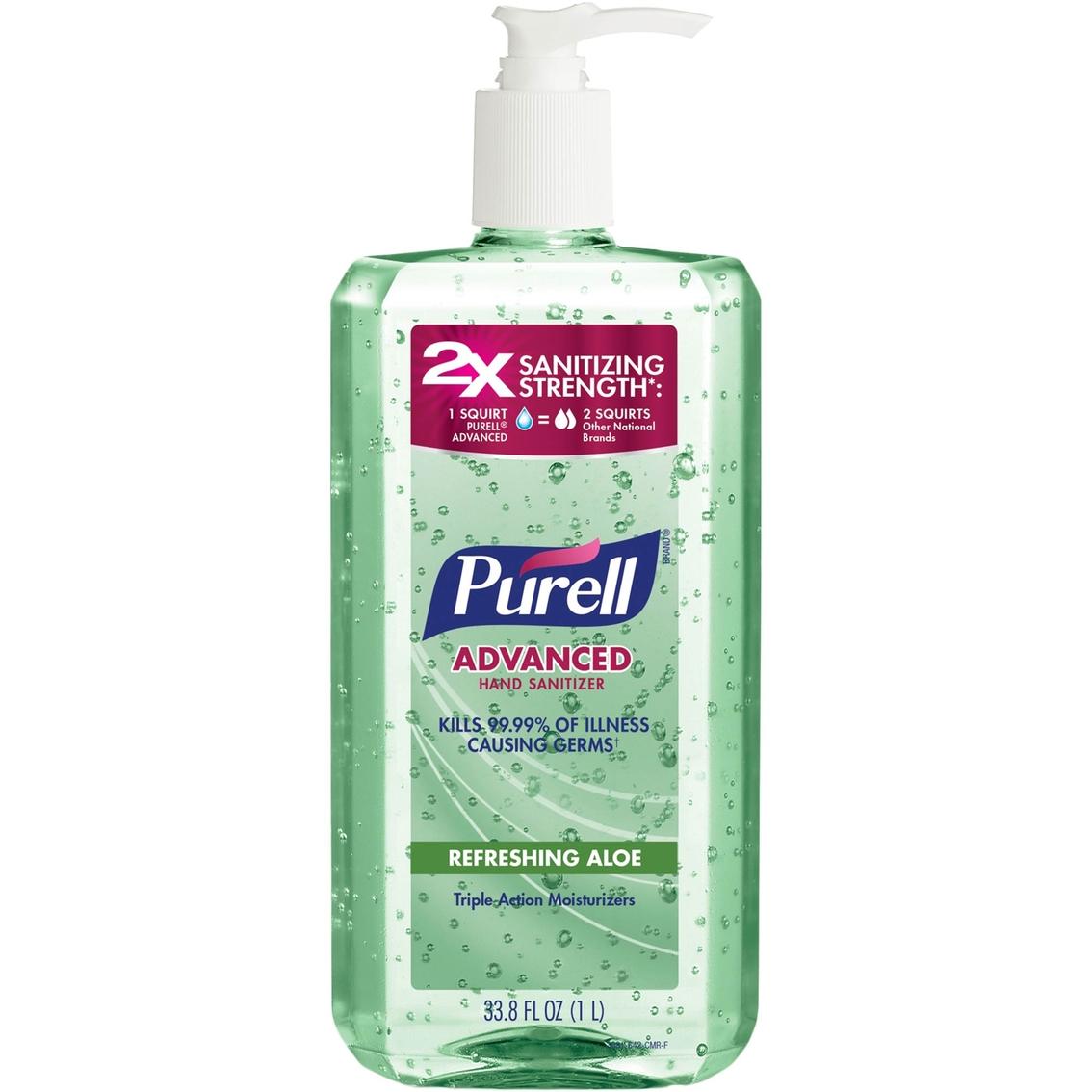 Purell Liquid Pump Bottle 8 Oz Hand Sanitizer Manchester Hardware