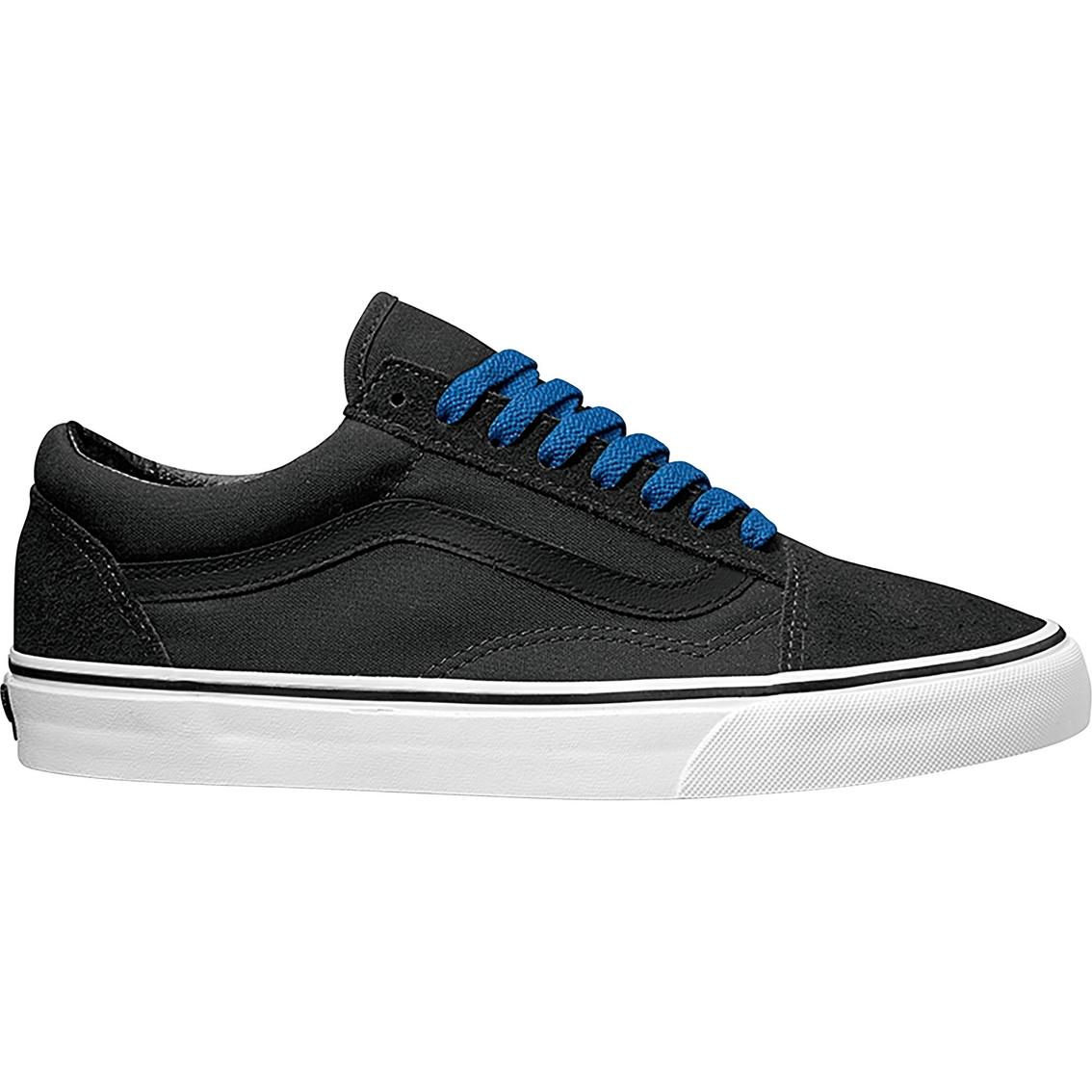 b92008baa9c2ea Vans Old Skool Men s Black blue Pop Casual Shoes
