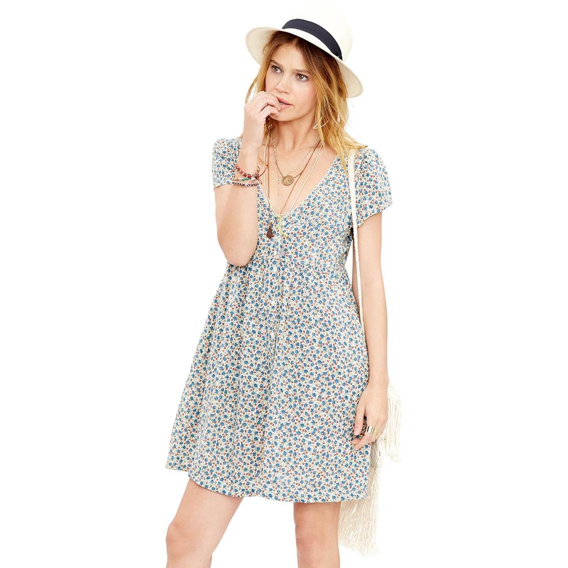 eeb1b7b1e2 Denim   Supply Ralph Lauren Floral Button Front Dress