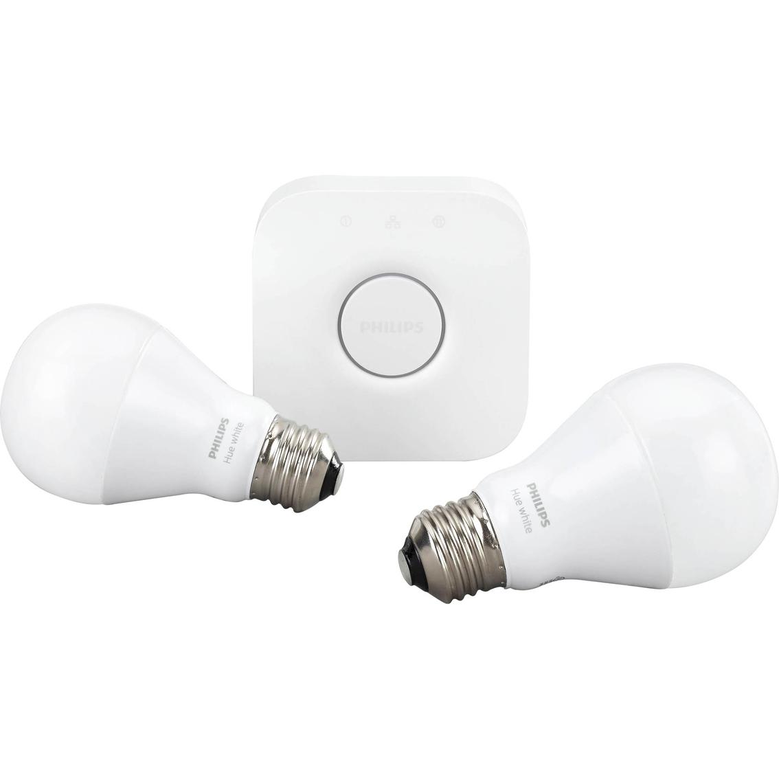 Philips Hue White Starter Kit Smart Energy Lighting Fluorescent Lamp Lights