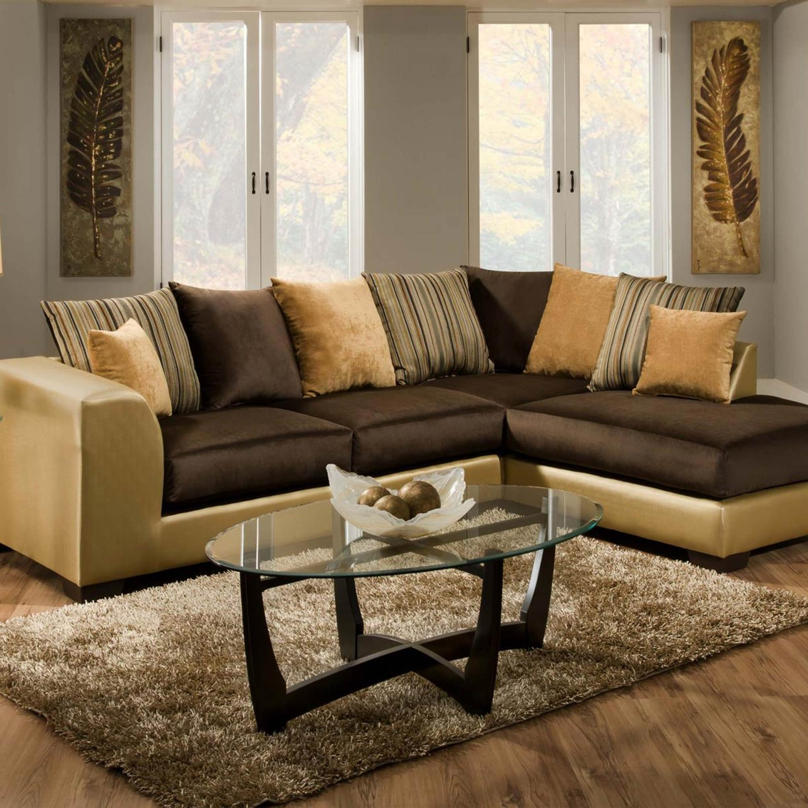 Chelsea Home Alpha 2 Pc Sectional