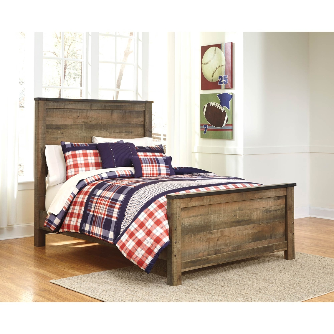 Ashley Furniture Online Shopping: Ashley Trinell Full Panel Bed
