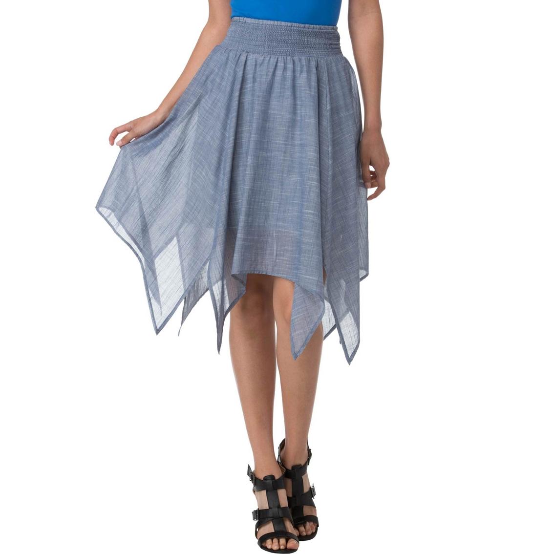 joe b juniors hanky hem maxi skirt skirts apparel