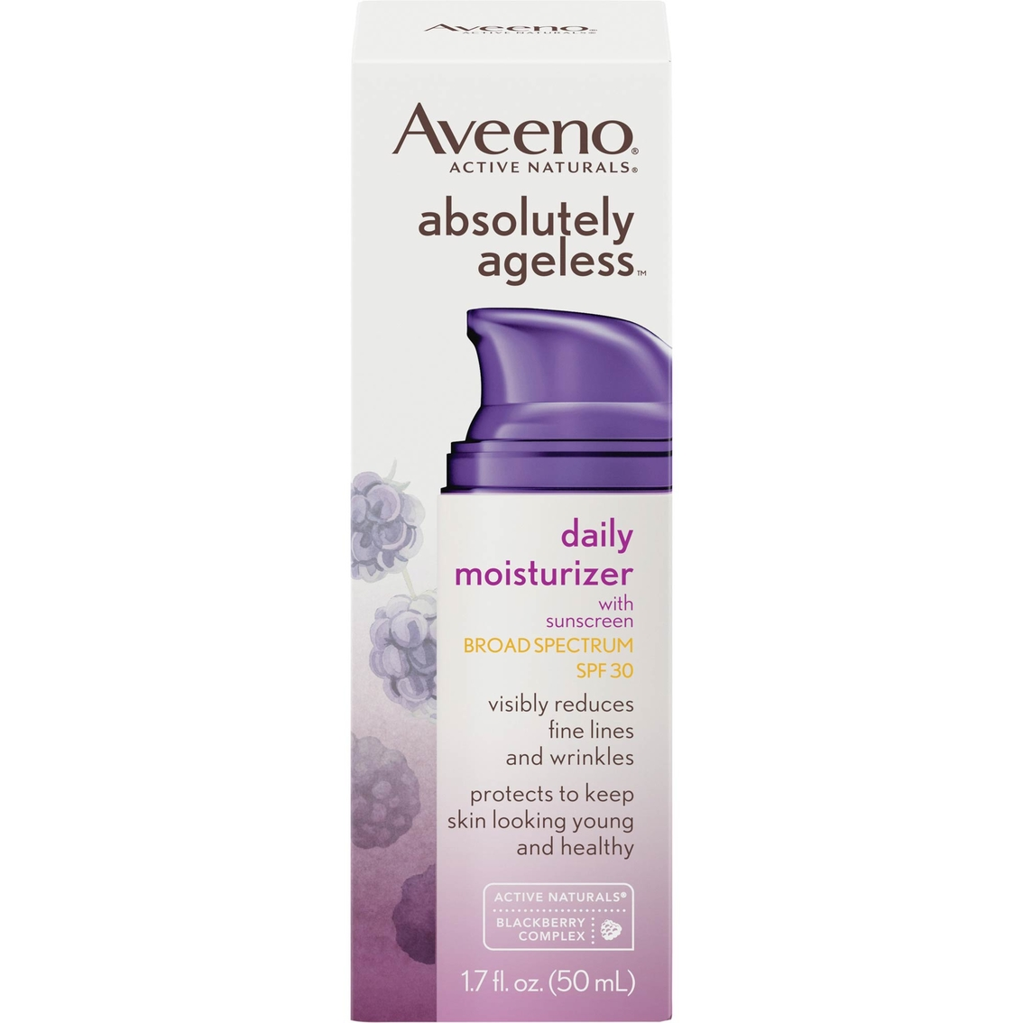 Aveeno Absolutely Ageless Daily Moisturizer With Sunscreen Broad Spectrum  Spf 30   Moisturizers   Beauty & Health   Shop The Exchange