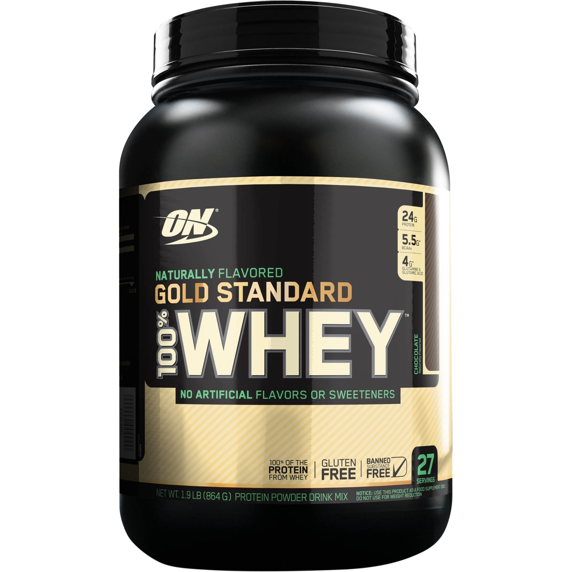 Optimum Nutrition All Natural Gold Standard 100 Whey Protein Powder 27 Servings Protein Sports Outdoors Shop The Exchange