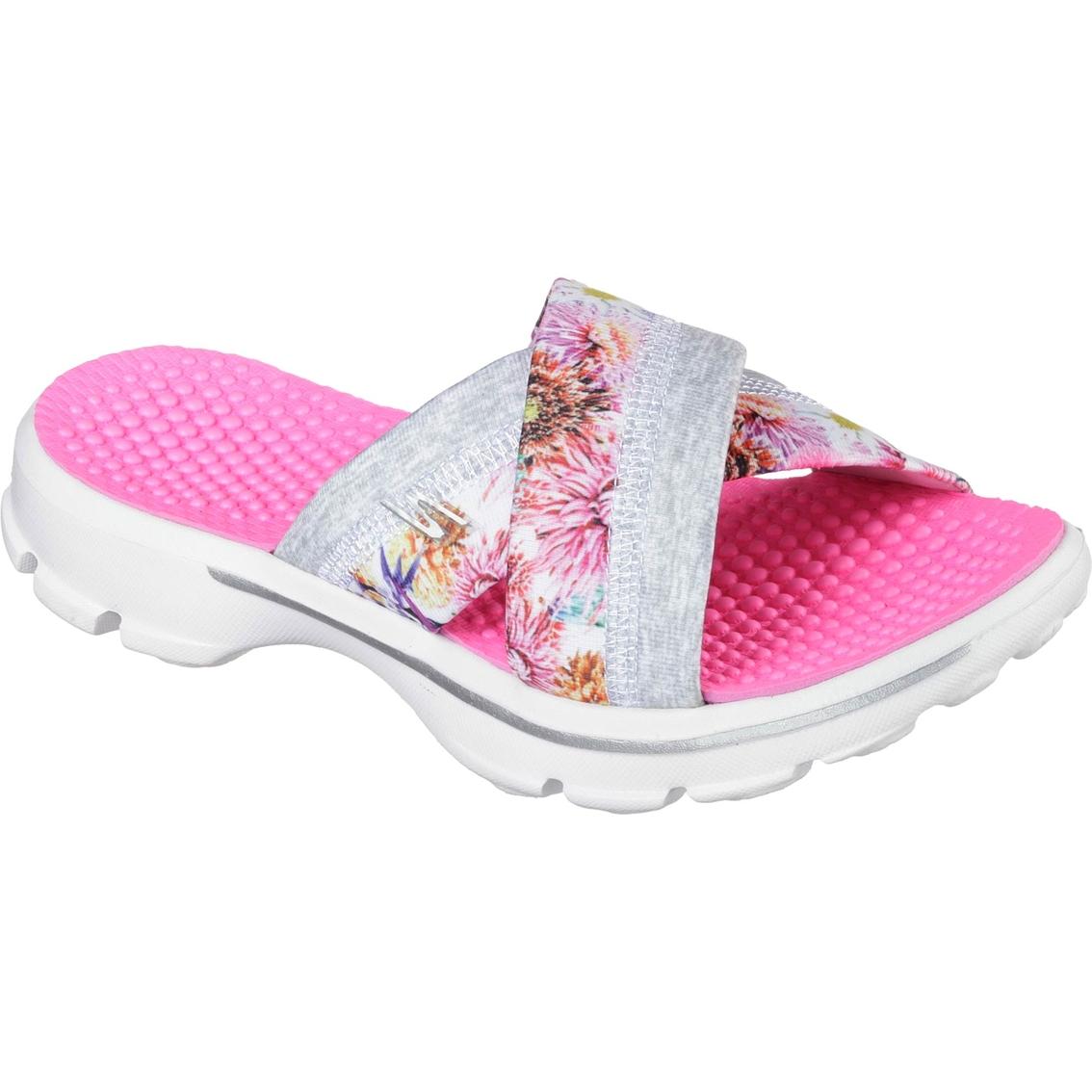 Skechers Women's Go Walk Fuji Sandals | Flats | Shoes | Shop