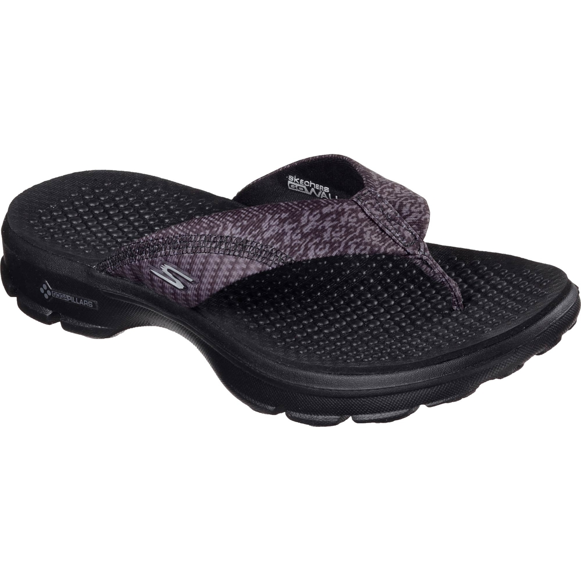 f8d679d0ad Skechers Women's Go Walk Pizazz Sandals | Flip Flops | Apparel ...