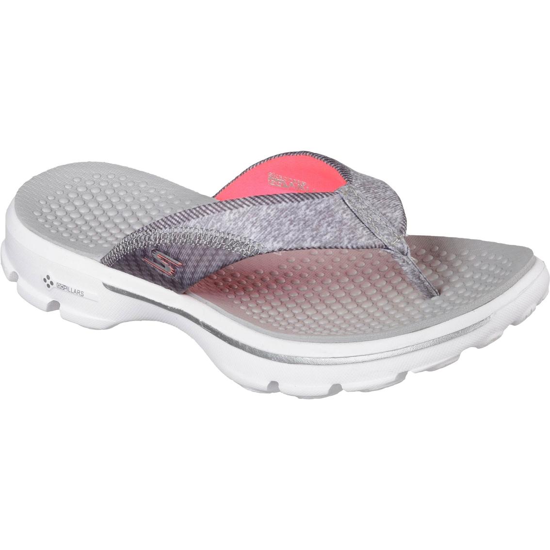 Skechers Women S Go Walk Pizazz Sandals Flip Flops