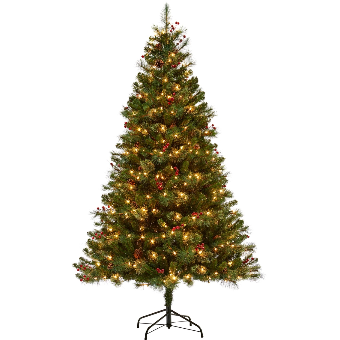 Pre Lit Christmas Tree Fuses: 6.5 Ft. Pre-lit Newburgh Pine Christmas Tree