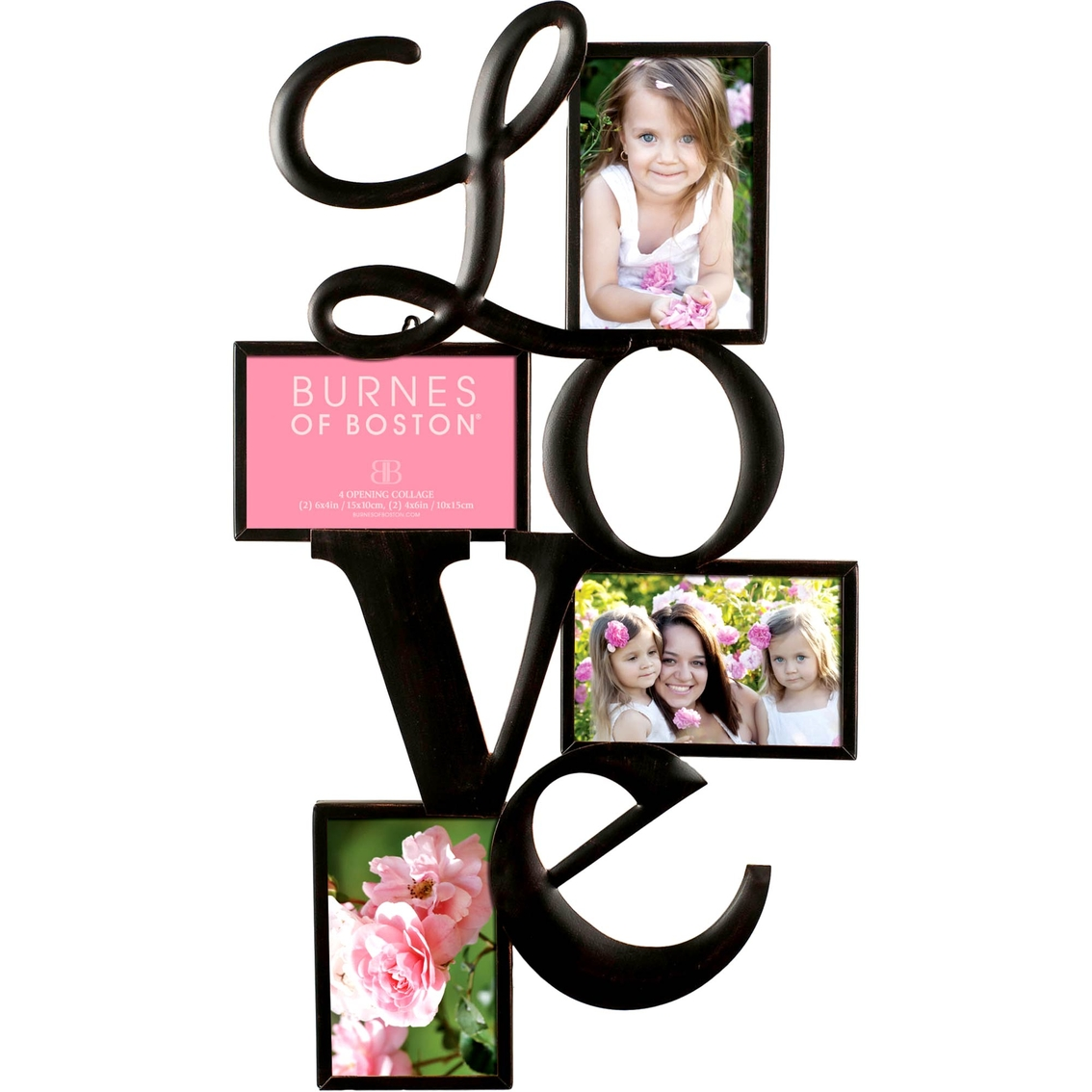 Burnes Of Boston Love 4 Opening Collage Frame | Frames | Home ...