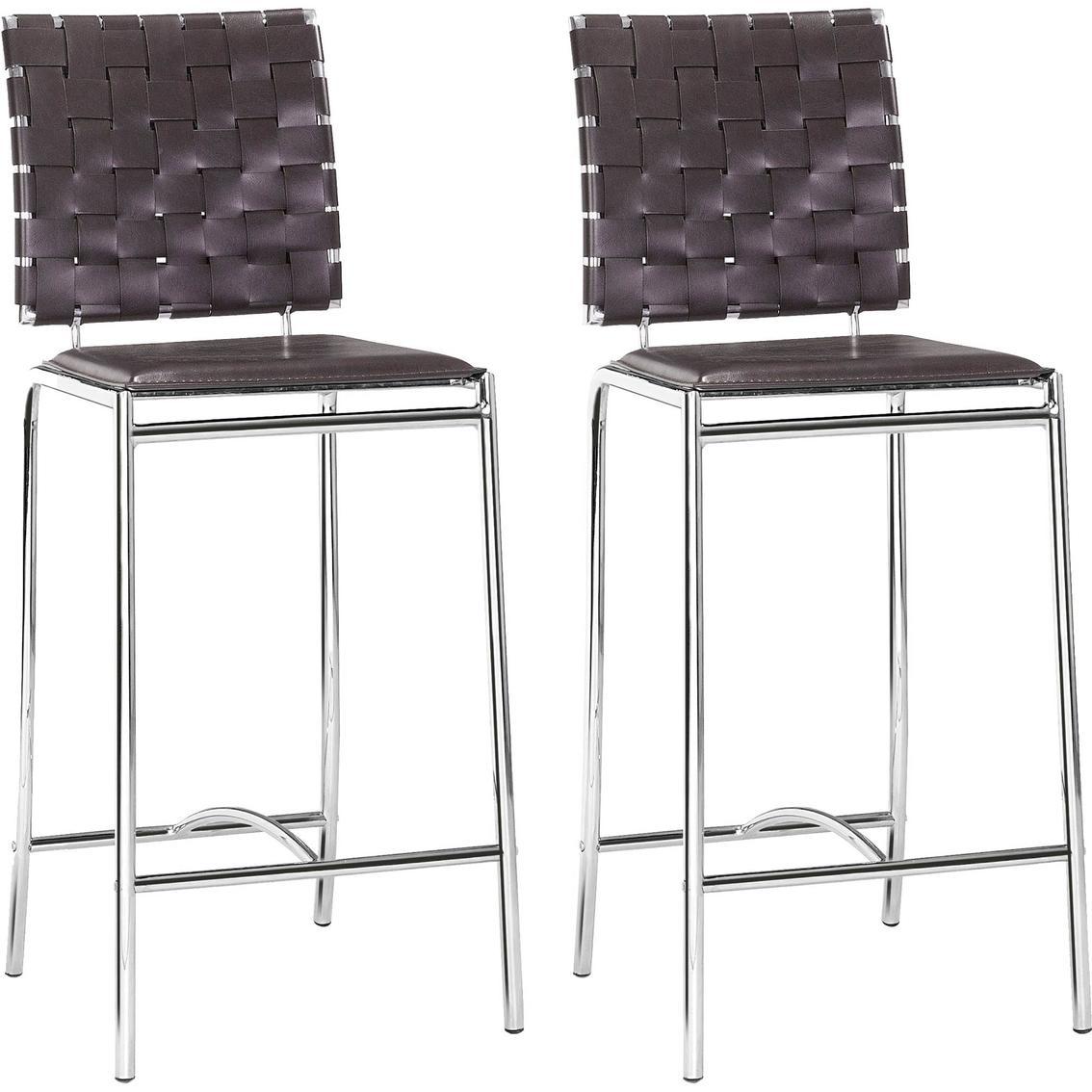 Zou Criss Cross Counter Chair 2 Pk.