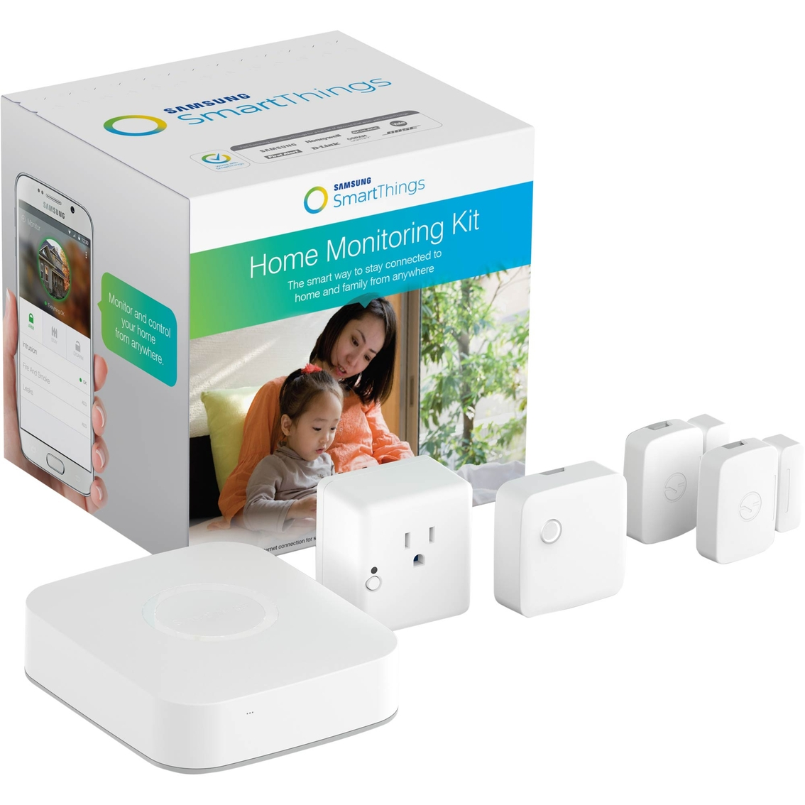 Samsung Smartthings Home Monitoring Kit | Smart Switches & Outlets
