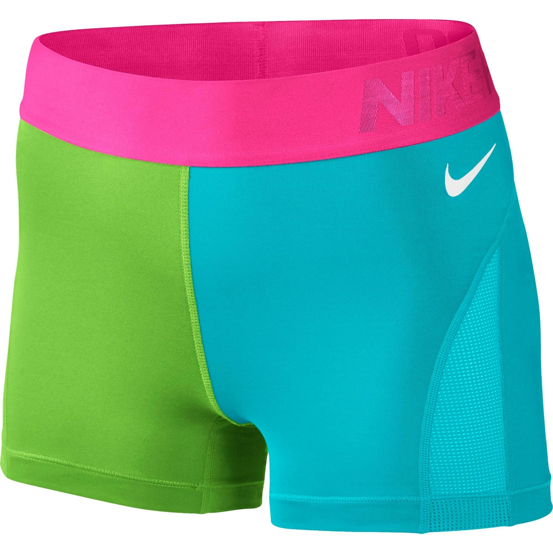 nike pro 3 in hypercool colorblock shorts shorts. Black Bedroom Furniture Sets. Home Design Ideas