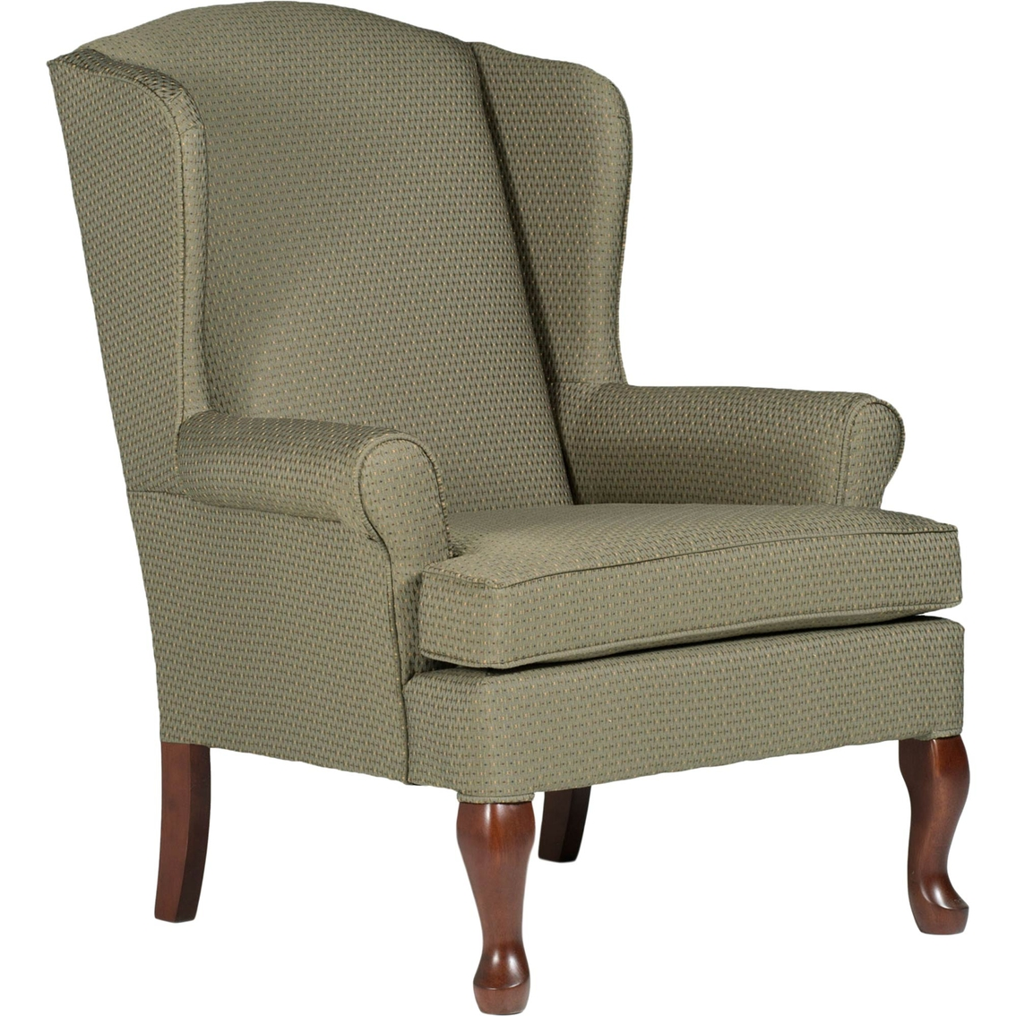 Best home furnishings doris wing chair furniture for Hometown furniture exchange