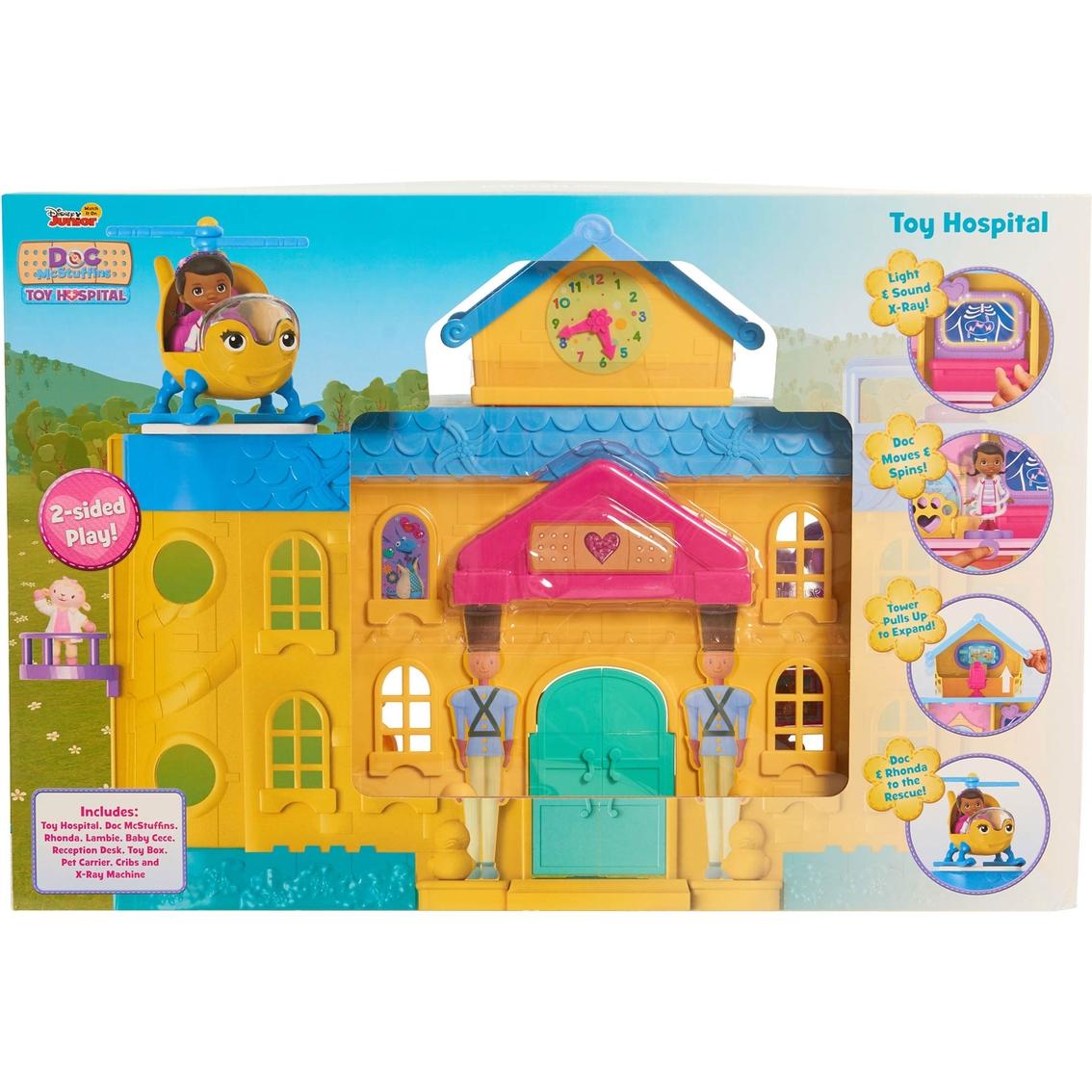 Disney Junior Doc Mcstuffins Toy Hospital Playset Action Figures Baby Toys Shop The Exchange