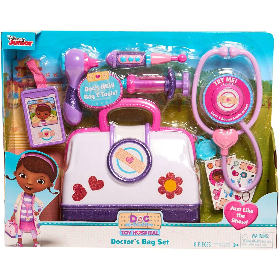 Disney Junior Doc McStuffins Toy Hospital Care Cart Nursery girls Set NEW in box