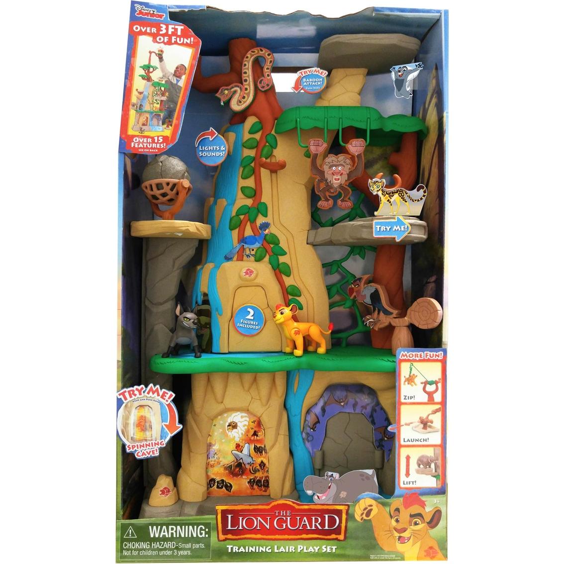 Disney Junior Lion Guard Training Lair Playset