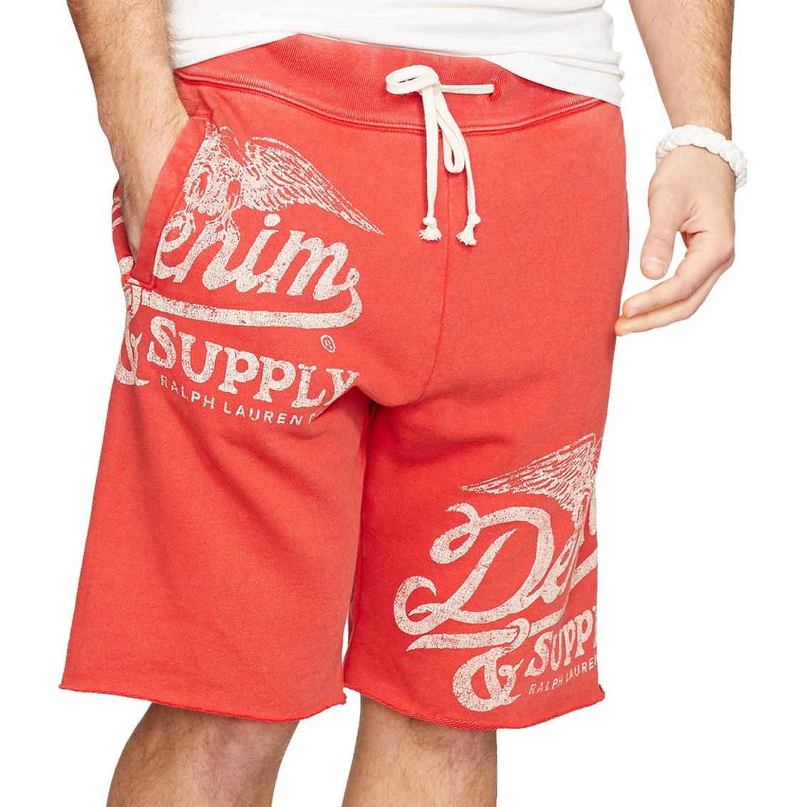 3b805b29e79 Denim And Supply Ralph Lauren French Terry Cutoff Shorts | Men ...
