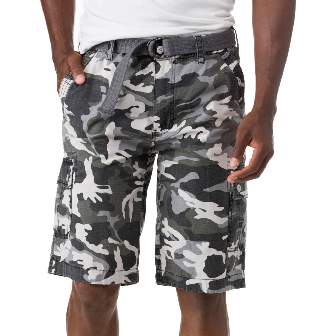 61c953379d Wearfirst Belted Camo Cargo Shorts | Shorts | Apparel | Shop The ...