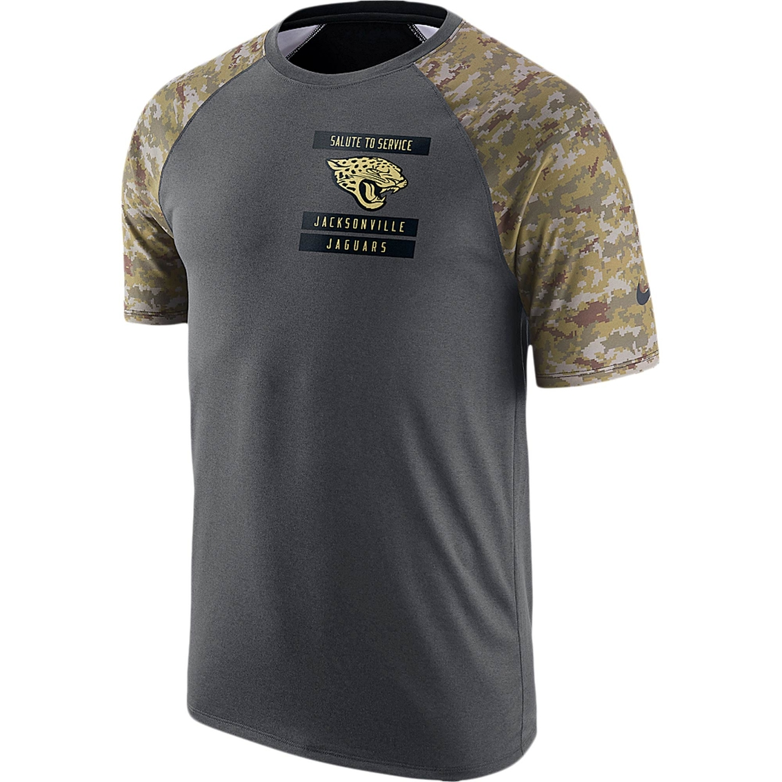 premium selection 93d77 23928 Nike Nfl Jacksonville Jaguars Salute To Service Tee ...