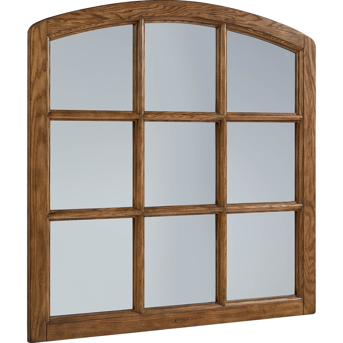 Magnolia home belgian window mirror mirrors home for Window design mirror