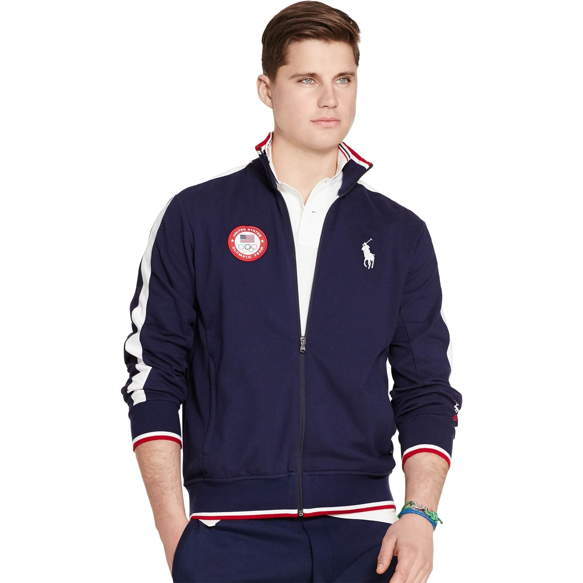 polo ralph lauren team usa track jacket polo ralph. Black Bedroom Furniture Sets. Home Design Ideas