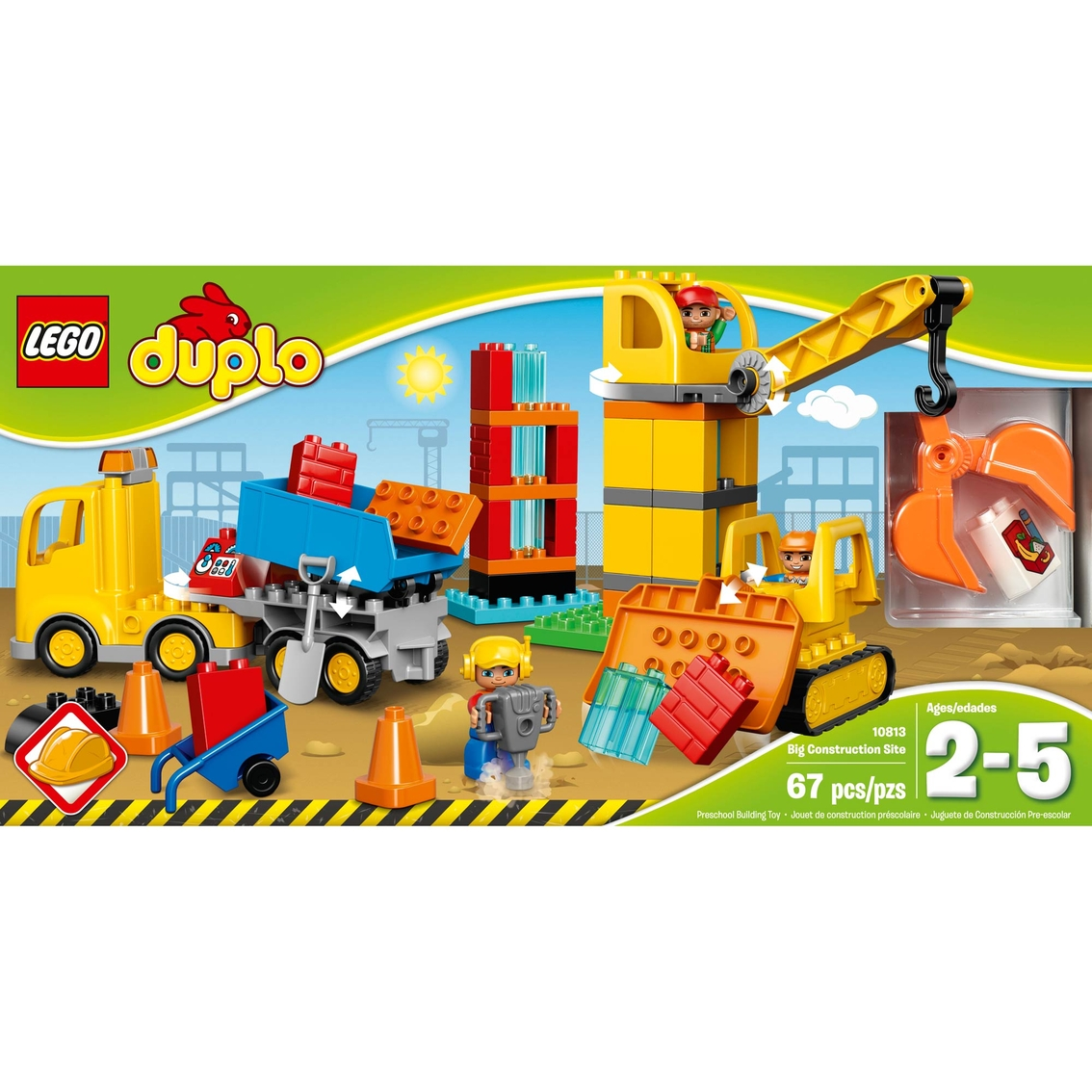 LEGO DUPLO Town Toddler Truck Toy Construction Building Fun Gift Kids Christmas
