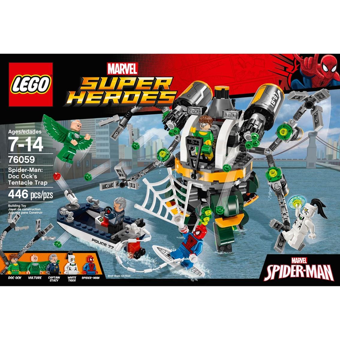 Tentacle Trap Marvel Super Spider Ock's Heroes ManDoc Lego TK1J3lFc