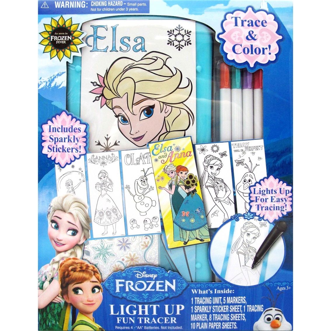 Tara Toy Disney Frozen Light Up Fun Fashion Tracer