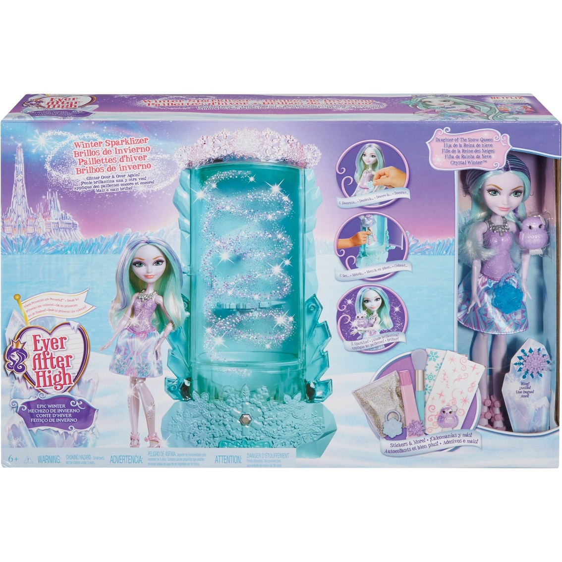 EVER AFTER HIGH EPIC WINTER SPARKLIZER CRYSTAL DOLL CLOTHES REPLACEMENT SKIRT