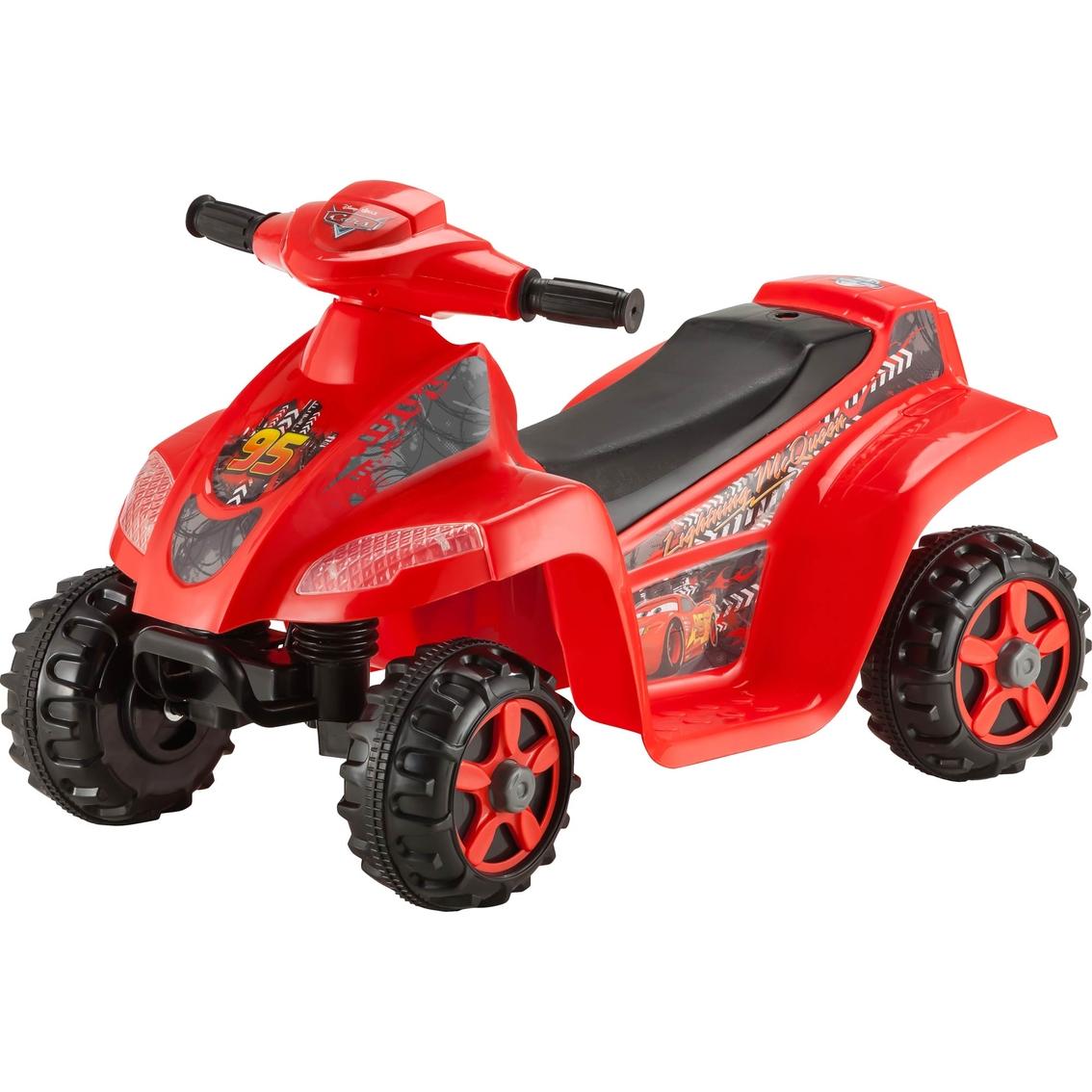 Disney Cars Toddler Quad 6v Electric Ride On Battery