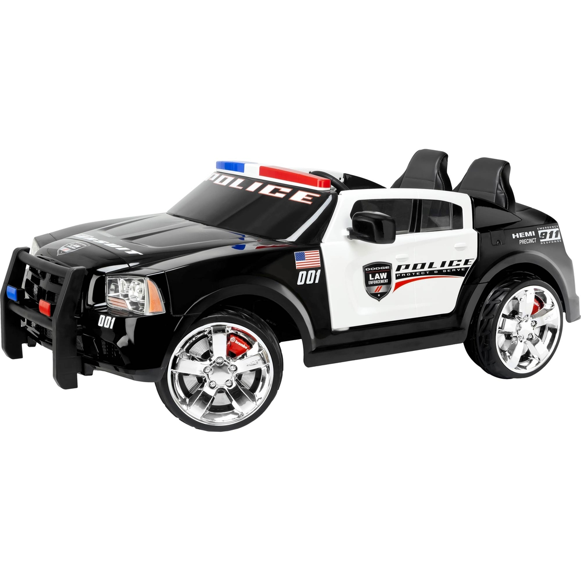 kidtrax dodge charger pursuit police car 12v electric ride on rh shopmyexchange com