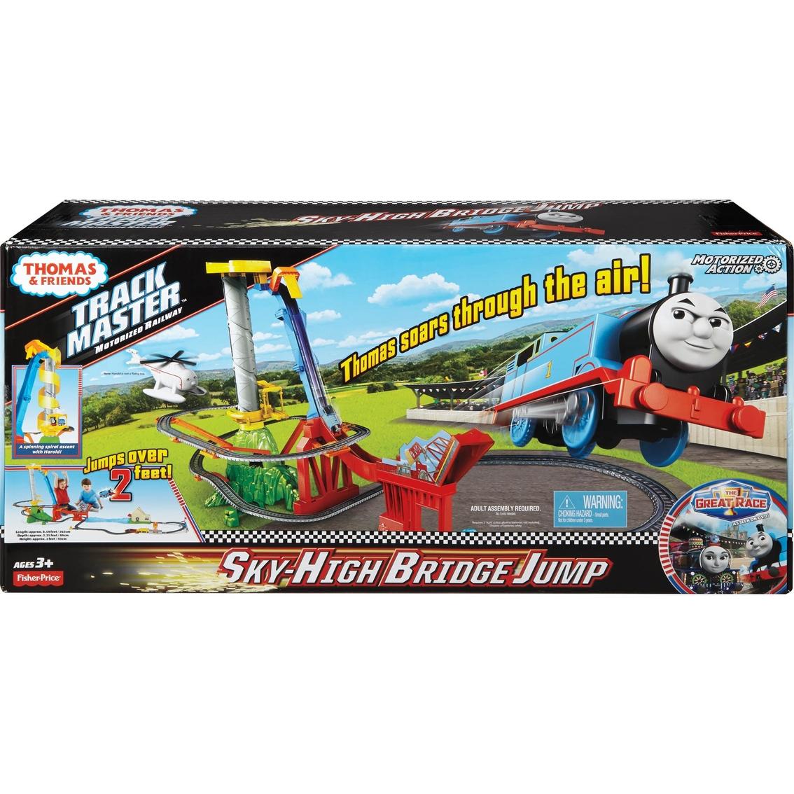 Fisher-price Thomas & Friends Trackmaster Thomas' Sky High Bridge ...