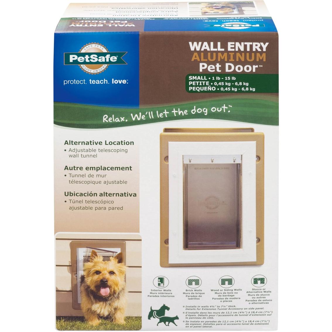 Petsafe Aluminum Wall Dog Door Carriers Containment More