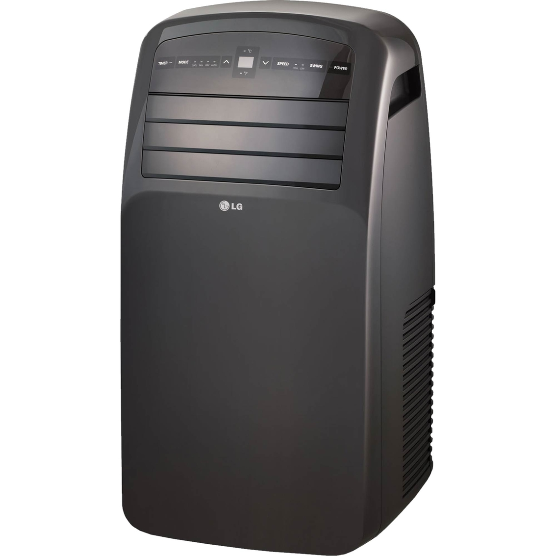 lg 12 000 btu portable air conditioner with lcd remote