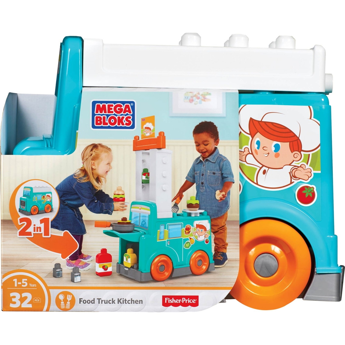 Mega Bloks Food Truck Kitchen   Cooking   Baby & Toys   Shop The ...