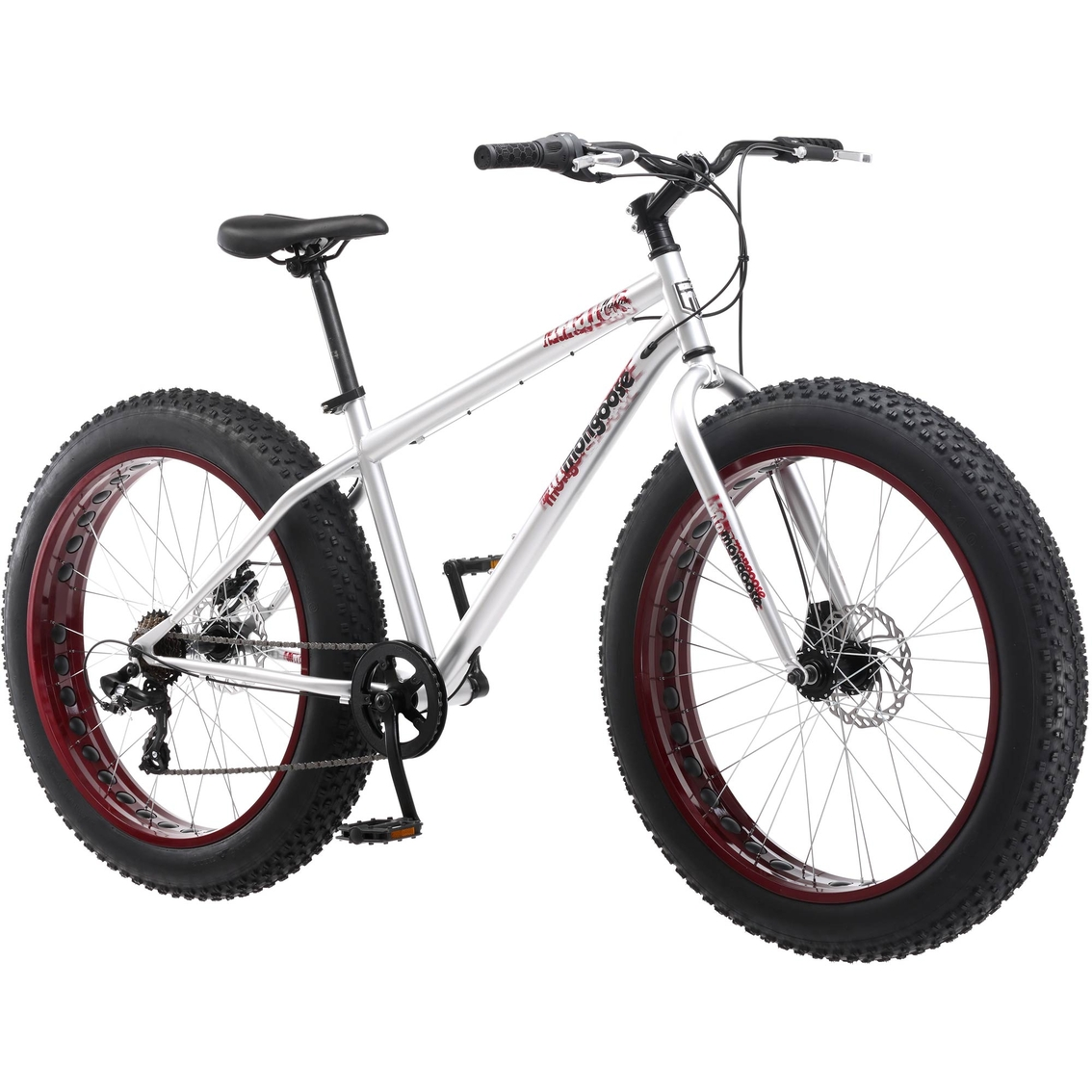 Mongoose Men S Malus 26 In Fat Tire Bike Adult Bikes