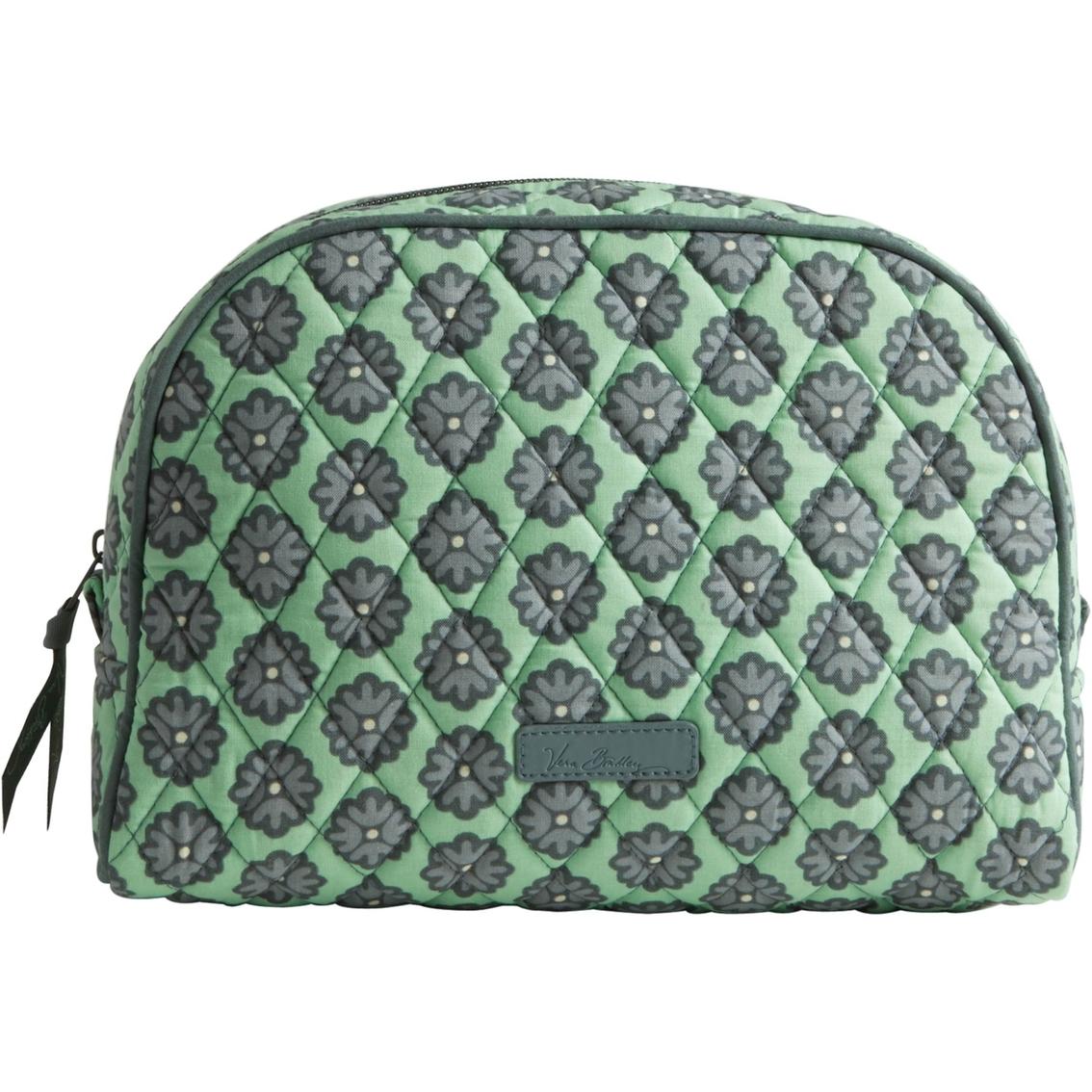 Vera Bradley Large Zip Cosmetic Bag Nomadic Blossoms