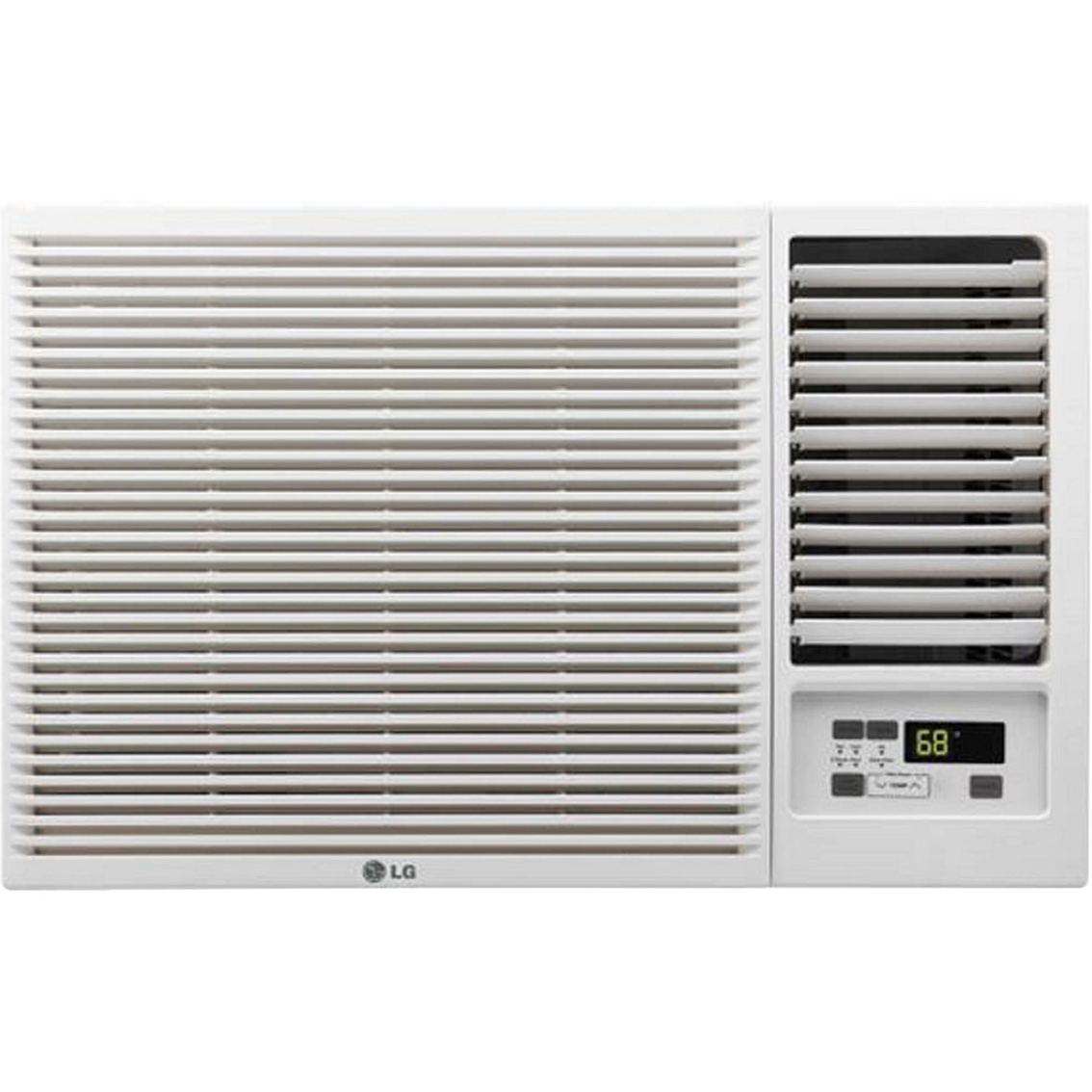 Window mounted Air Conditioner With 11 200 Btu Heat Function Window  #5A5149