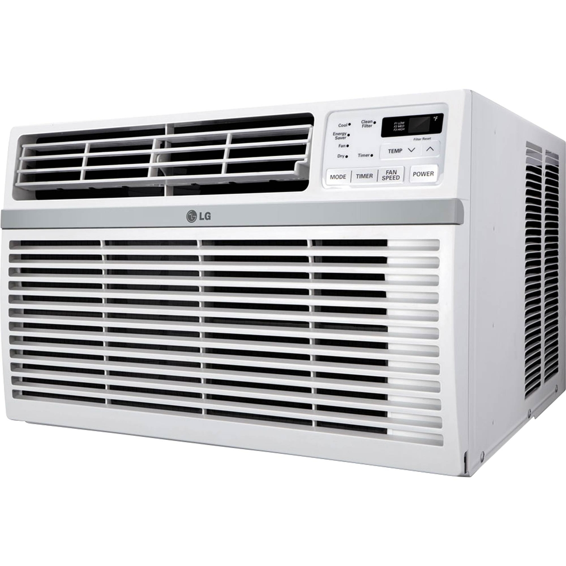 Lg 15 000 btu 115v window mounted air conditioner with for 15 width window air conditioner