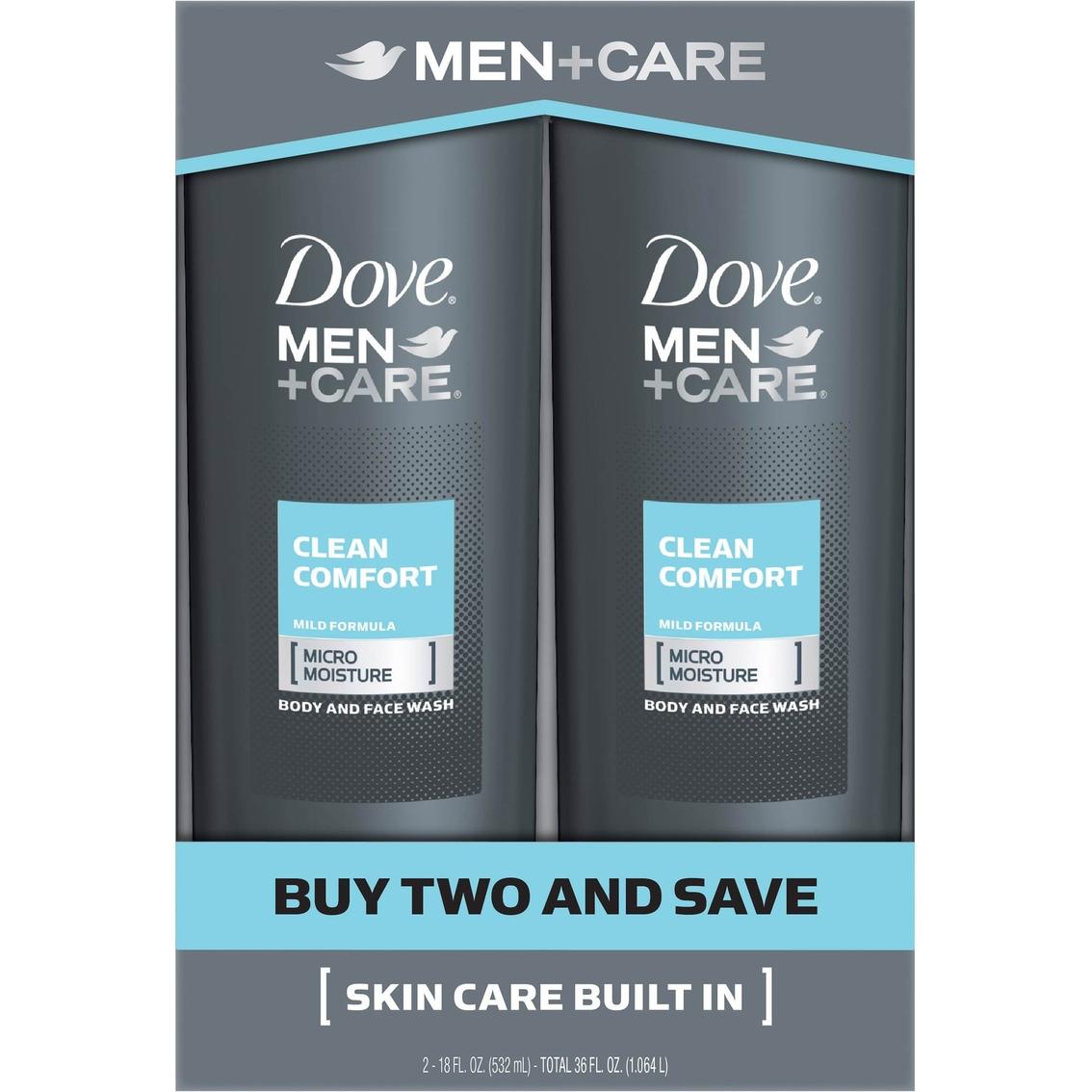 Dove Men Care Clean Comfort Body Wash 2 Pk Body Hair Care Beauty Health Shop The Exchange