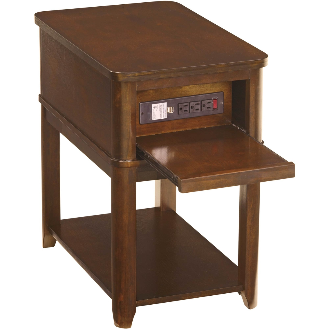 Ashley Jaysteen Chairside Table With Electrical And Usb